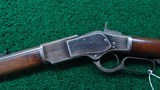 WINCHESTER FIRST MODEL 73 RIFLE WITH SPECIAL ORDER 30 INCH ROUND BARREL - 2 of 20
