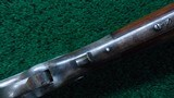 WINCHESTER FIRST MODEL 73 RIFLE WITH SPECIAL ORDER 30 INCH ROUND BARREL - 9 of 20