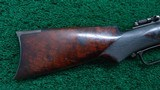 VERY RARE WINCHESTER MODEL 1873 DELUXE RIFLE - 20 of 22