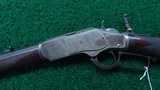 VERY RARE WINCHESTER MODEL 1873 DELUXE RIFLE - 2 of 22