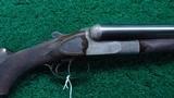 FRANCOTTE 12 GAUGE SIDE BY SIDE SHOTGUN