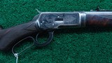 FACTORY ENGRAVED WINCHESTER MODEL 53 TAKEDOWN RIFLE IN CALIBER 32-20