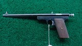 EXPERIMENTAL WINCHESTER PISTOL IN CALIBER 22 - 2 of 11