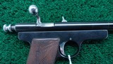 EXPERIMENTAL WINCHESTER PISTOL IN CALIBER 22 - 6 of 11
