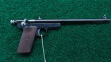 EXPERIMENTAL WINCHESTER PISTOL IN CALIBER 22 - 1 of 11