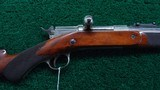 FACTORY EXHIBITION REMINGTON KEENE DELUXE ENGRAVED RIFLE