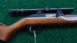 MARLIN MODEL 99 G 22 CALIBER SEMI AUTO RIFLE