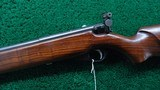 WARDS WESTERN FIELD MODEL 47 C 22 CALIBER BOLT ACTION RIFLE - 2 of 22