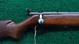 WARDS WESTERN FIELD MODEL 47 C 22 CALIBER BOLT ACTION RIFLE