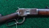 ANTIQUE WINCHESTER 1892 RIFLE IN CALIBER 38-40