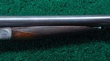 A VERY FINE BELGIUM MADE 12 GAUGE SIDE BY SIDE SHOTGUN BY DUMOULIN BROTHERS - 5 of 24