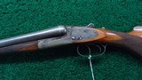 A VERY FINE BELGIUM MADE 12 GAUGE SIDE BY SIDE SHOTGUN BY DUMOULIN BROTHERS - 2 of 24