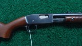 REMINGTON FIELD MASTER MODEL 121 PUMP ACTION 22 CALIBER RIFLE