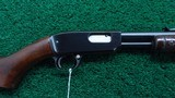WINCHESTER MODEL 61 PUMP ACTION 22 CALIBER RIFLE
