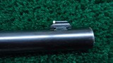 INTERESTING 1885 LOW WALL WINCHESTER FACTORY TEST RIFLE CALIBER 22 SHORT - 13 of 23