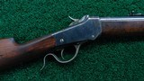 INTERESTING 1885 LOW WALL WINCHESTER FACTORY TEST RIFLE CALIBER 22 SHORT
