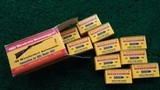 FULL BRICK OF OLD WESTERN SCROUNGER 22 WINCHESTER AUTOMATIC CARTRIDGES