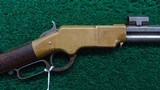 SIGNIFICANTLY HISTORICAL HENRY RIFLE TIED TO THE COMSTOCK LODE OF NEVADA