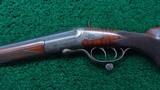 SINGLE SHOT F. ULM ROOK RIFLE IN CALIBER 7.65MM - 2 of 23