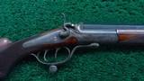 SINGLE SHOT F. ULM ROOK RIFLE IN CALIBER 7.65MM