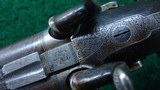 DOUBLE BARREL PERCUSSION RIFLE MADE BY HORSLEY OF YORK - 10 of 23
