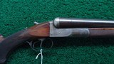 COLT 1883 DAMASCUS BARREL 10 GAUGE SXS
