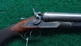COLT MODEL 1878 10 GAUGE DOUBLE BARREL HAMMER SHOTGUN