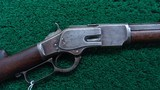 WINCHESTER 2ND MODEL1873 RIFLE IN CALIBER 44-40