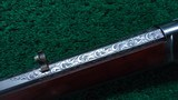 VERY RARE 1873 1ST MODEL RIFLE WITH SPECIAL ORDER 32 INCH BARREL AND FACTORY ENGRAVED - 16 of 25