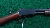 WINCHESTER 1890 SECOND MODEL SLIDE ACTION RIFLE IN 22 LONG