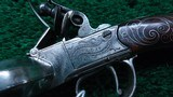 A VERY FINE PAIR OF ENGLISH MADE DUCK-FOOT FLINTLOCK PISTOLS MARKED COLLIS OF OXFORD - 8 of 13