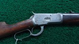 WINCHESTER MODEL 1892 SPECIAL ORDER SHORT RIFLE IN 44 WCF