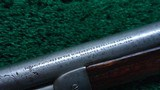 WINCHESTER MODEL 1892 SPECIAL ORDER SHORT RIFLE IN 44 WCF - 13 of 21
