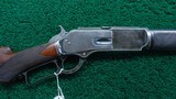 WINCHESTER MODEL 1876 DELUXE RIFLE IN HARD TO FIND 50 EXPRESS
