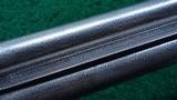 BEAUTIFUL ANTIQUE CHARLES DALY DIAMOND GRADE SxS 12 GAUGE SHOTGUN - 7 of 25