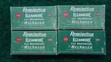 4 BOXES OF REMINGTON KLEANBORE 222 REMINGTON AMMO