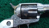 FACTORY ENGRAVED COLT FIRST GENERATION REVOLVER IN CALIBER 45 - 6 of 17