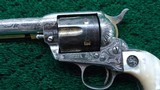 FACTORY ENGRAVED COLT FIRST GENERATION REVOLVER IN CALIBER 45 - 7 of 17