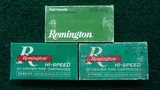 3 BOXES OF REMINGTON BRAND 30-30 WIN AMMO