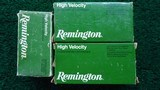 133 ROUNDS OF REMINGTON 22 HORNET SOFT POINT & HOLLOW POINT AMMO - 2 of 7