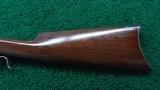WINCHESTER MODEL 1885 LO-WALL SINGLE SHOT RIFLE IN CALIBER 25-20 SINGLE SHOT - 18 of 22