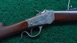 WINCHESTER MODEL 1885 LO-WALL SINGLE SHOT RIFLE IN CALIBER 25-20 SINGLE SHOT