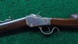 WINCHESTER MODEL 1885 LO-WALL SINGLE SHOT RIFLE IN CALIBER 25-20 SINGLE SHOT - 2 of 22