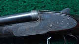 400 EXPRESS DOUBLE RIFLE BY LANG & HUSSEY OF LONDON - 8 of 25