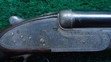 400 EXPRESS DOUBLE RIFLE BY LANG & HUSSEY OF LONDON - 9 of 25