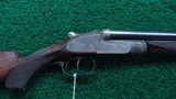 400 EXPRESS DOUBLE RIFLE BY LANG & HUSSEY OF LONDON - 1 of 25