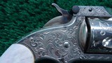 SMITH & WESSON SINGLE ACTION ENGRAVED REVOLVER - 6 of 13