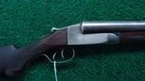 ITHACA FLUES DOUBLE BARREL 12 GAUGE SHOTGUN - 1 of 18