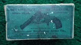 FACTORY ENGRAVED CASED SMITH & WESSON 32 SINGLE ACTION REVOLVER - 15 of 17
