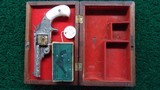 FACTORY ENGRAVED CASED SMITH & WESSON 32 SINGLE ACTION REVOLVER - 16 of 17